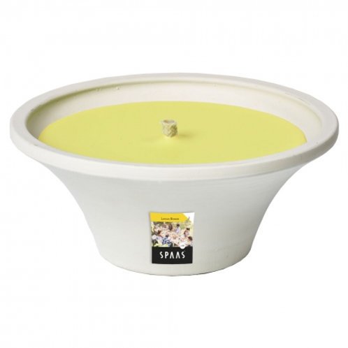 CITRONELLA WHITE TERRACOTTA LEMON BREEZE