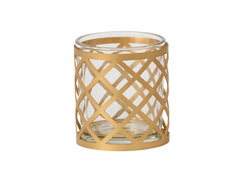 CELEBRATE - VOTIVE HOLDER METAL
