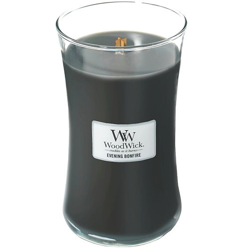 EVENING BONFIRE LARGE HOURGLASS CANDLE