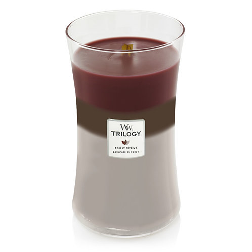FOREST RETREAT TRILOGY LARGE HOURGLASS CANDLE