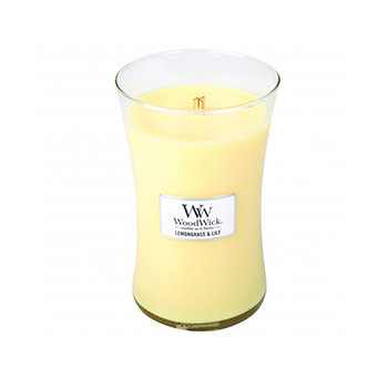 LEMONGRASS & LILY LARGE HOURGLASS CANDLE