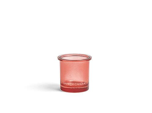 POP TEA LIGHT/VOTIVE HOLDER - CORAL