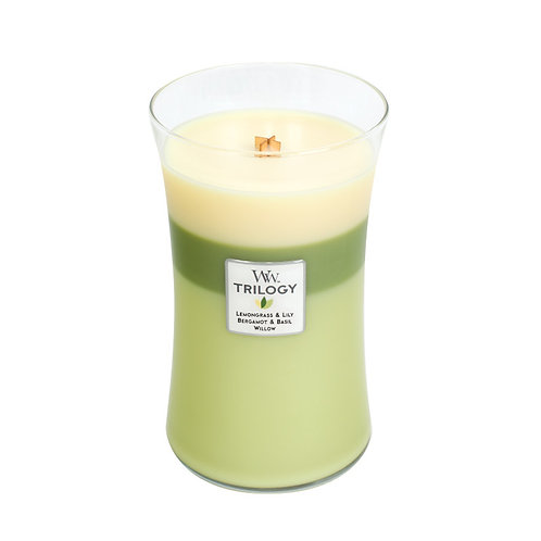 GARDEN OASIS TRILOGY LARGE HOURGLASS CANDLE