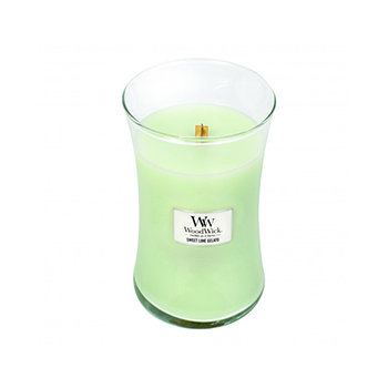 SWEET LIME GELATO LARGE HOURGLASS CANDLE