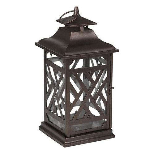 DECO LOUNGE BERREL JAR HLD LANTERN