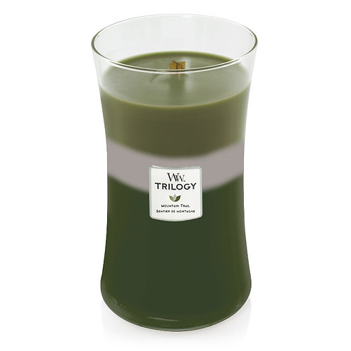 MOUNTAIN TRAIL TRILOGY LARGE HOURGLASS CANDLE