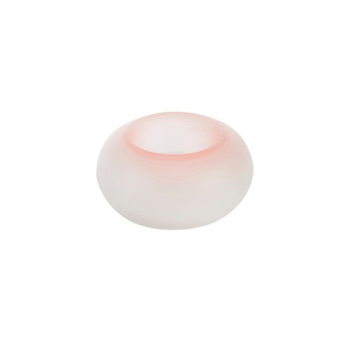 TRANQUILITY - T/LIGHT HLD PINK DONUT