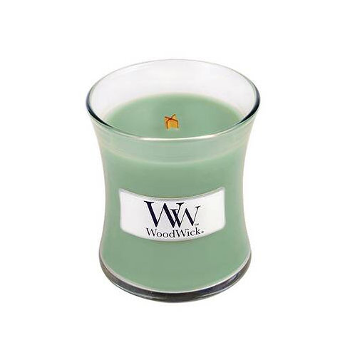 WHITE WILLOW MOSS MINI HOURGLASS CANDLE