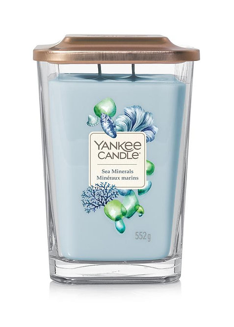 Sea Minerals Large 2-Wick Square Candle