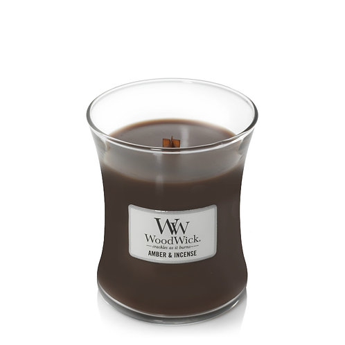 AMBER & INCENSE MEDIUM HOURGLASS CANDLE