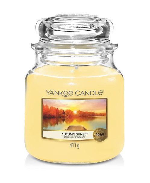 Autumn Sunset - Original Medium Jar Candle