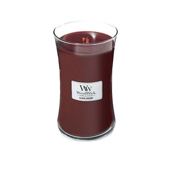 BLACK CHERRY LARGE HOURGLASS CANDLE