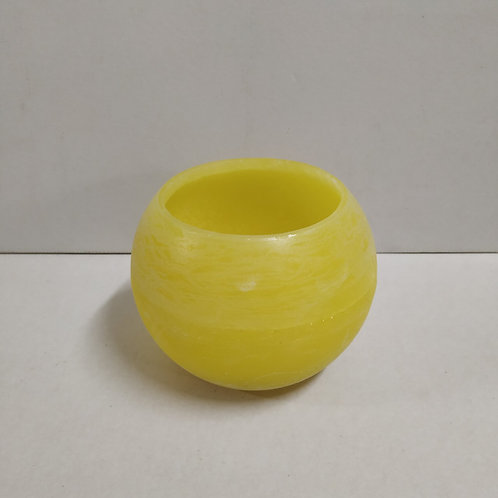 FLOATING ROUND 15CM YELLOW