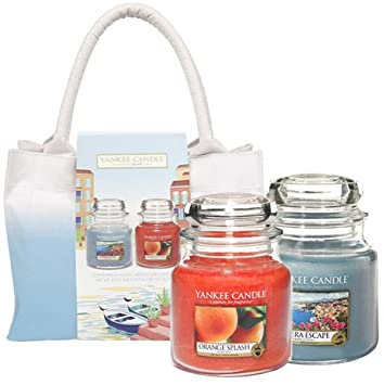 GIFT SET RIVIERA ESCAPE 2 MED JAR + BAG