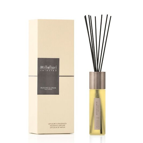100ML SELECTED DIFFUSER - MUSCHIO & SPEZIE (MUSK & SPICES)