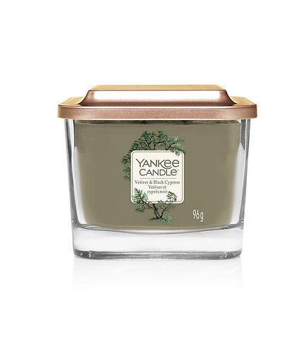 Vetiver & Black Cypress Small 1-Wick Square Candle