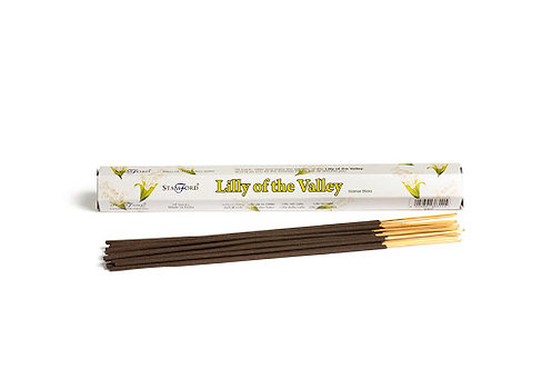 INCENSE STKS LILLY OF THE VALLEY