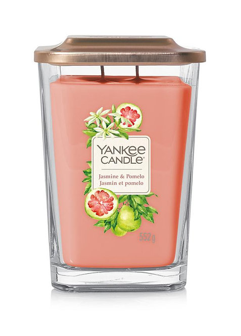 Jasmine & Pomelo Large 2-Wick Square Candle