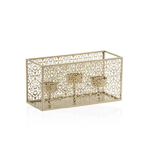 CHAMPAGNE PEARL MULTI TEA LIGHT HOLDER