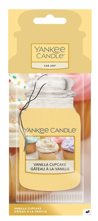 CAR JARS - VANILLA CUPCAKE