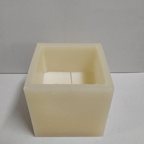 SQUARE FILLED 15CM IVORY