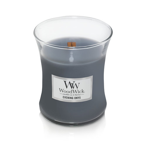 EVENING ONYX MEDIUM HOURGLASS CANDLE