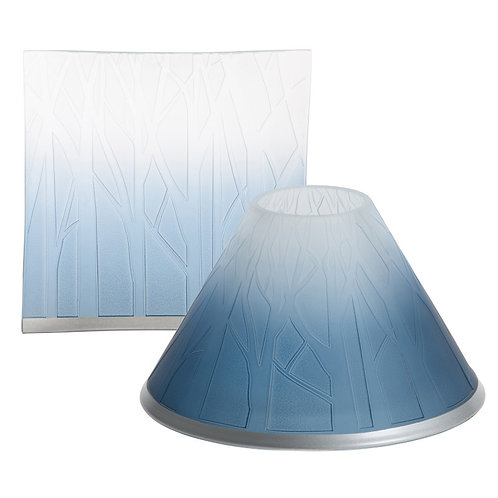 OMBRE FOREST LARGE SHADE & TRAY