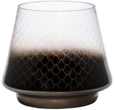 MODERN PINECONE - LRG GLASS LANTERN