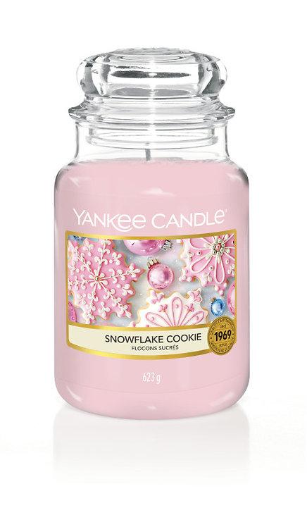CLASSIC LARGE JAR - SNOWFLAKE COOKIE