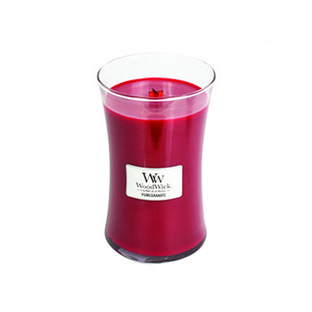 POMEGRANATE LARGE HOURGLASS CANDLE