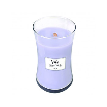 LILAC LARGE HOURGLASS CANDLE