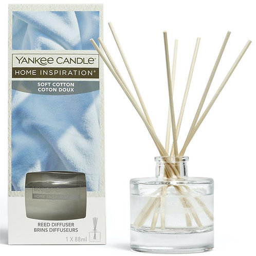 Soft Cotton Home Inspiration Reed Diffuser