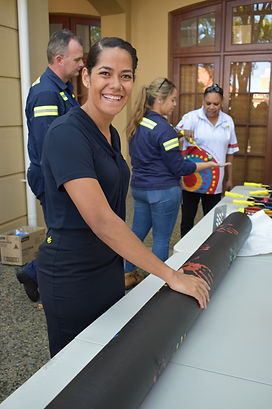 Caption:  Nicole Smith at GPC's National Reconciliation Week event.