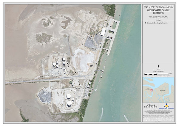 Port_of_Rockhampton_PFAS_bore_locations.