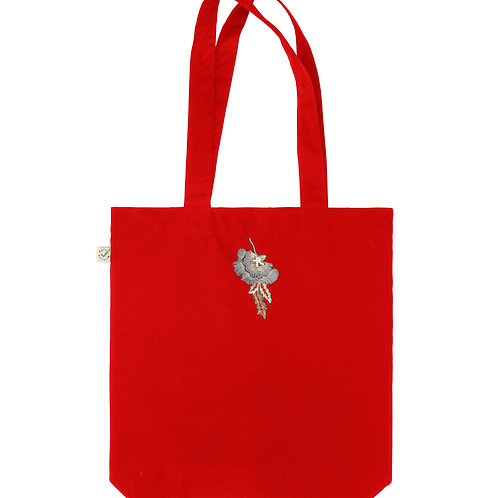 Red Carrie Tote Bag