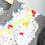 Thumbnail: Louisa Embellished Grey Cropped Sweatshirt