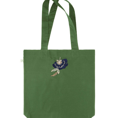 Green Carrie Tote Bag