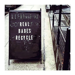 Real Babes Recycle.