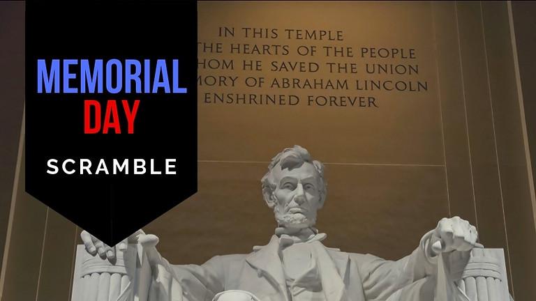 (CANCELED - COVID19) Memorial Day Scramble