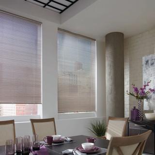 2014_MPM_LR_Aluminum Blinds_Dining Room.