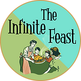 Infinite Feast Insta & website logo 2 fl