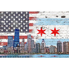zapwalls-decals-chicago-american-flag-sk