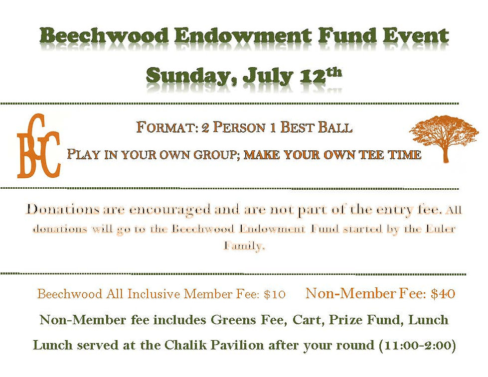 Beechwood Endowment Fund Event Format Sh
