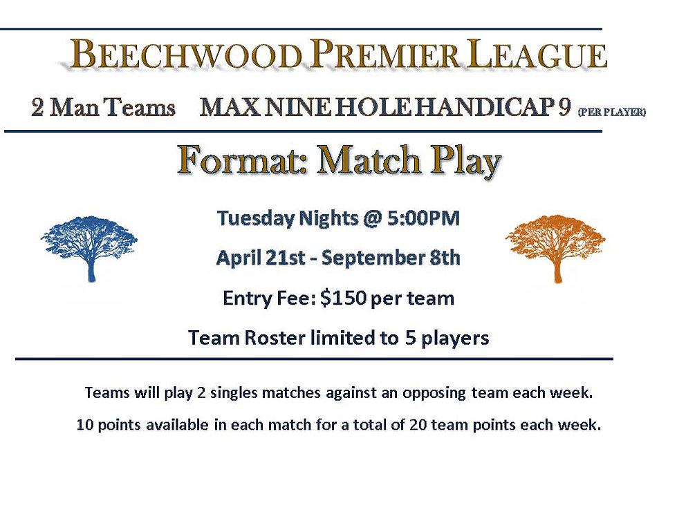 Premier League Beechwood Format Sheet.jp