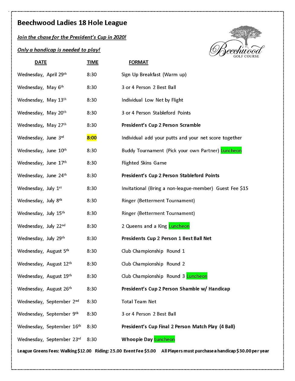 Ladies League 2020 Schedule.jpg