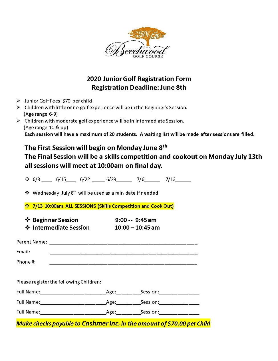 Junior Golf Registration Form 2020.jpg