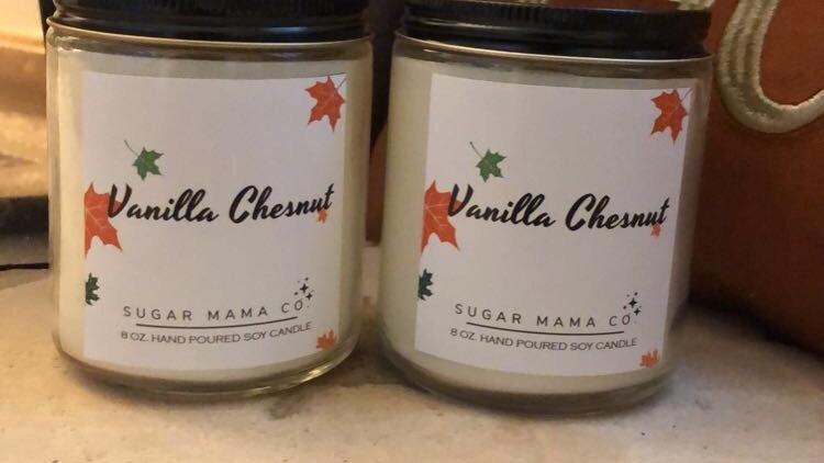 Vanilla Chestnut Candle