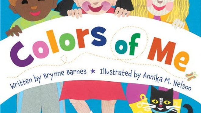 Colors of Me Children's Book