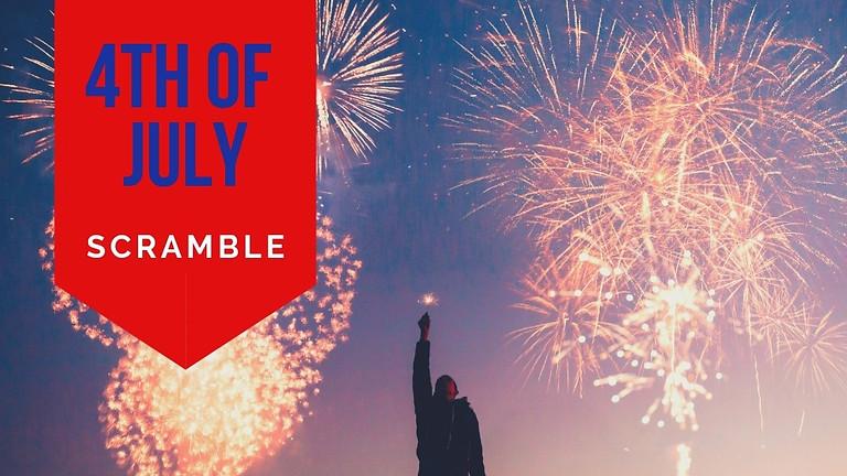 Fourth of July Scramble