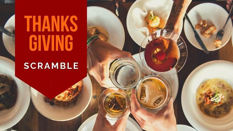 Thanksgiving Scramble